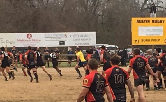 Austin Blacks Vs San Antonio rugby 2017